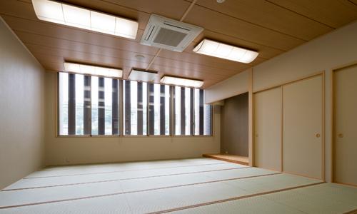 きれいな和室のお部屋