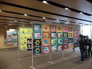 【施設活用報告】 江津市内保育所・児童館 絵画展
