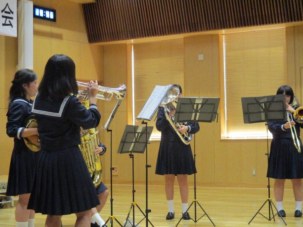 【施設活用報告】 第32回江津中学校吹奏楽部定期演奏会♪