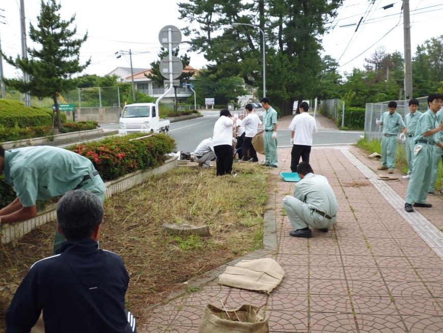 【終了しました】江津工業高校クリーンアップ活動inパレットごうつ